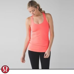 Lululemon Cool Racerback Grapefruit